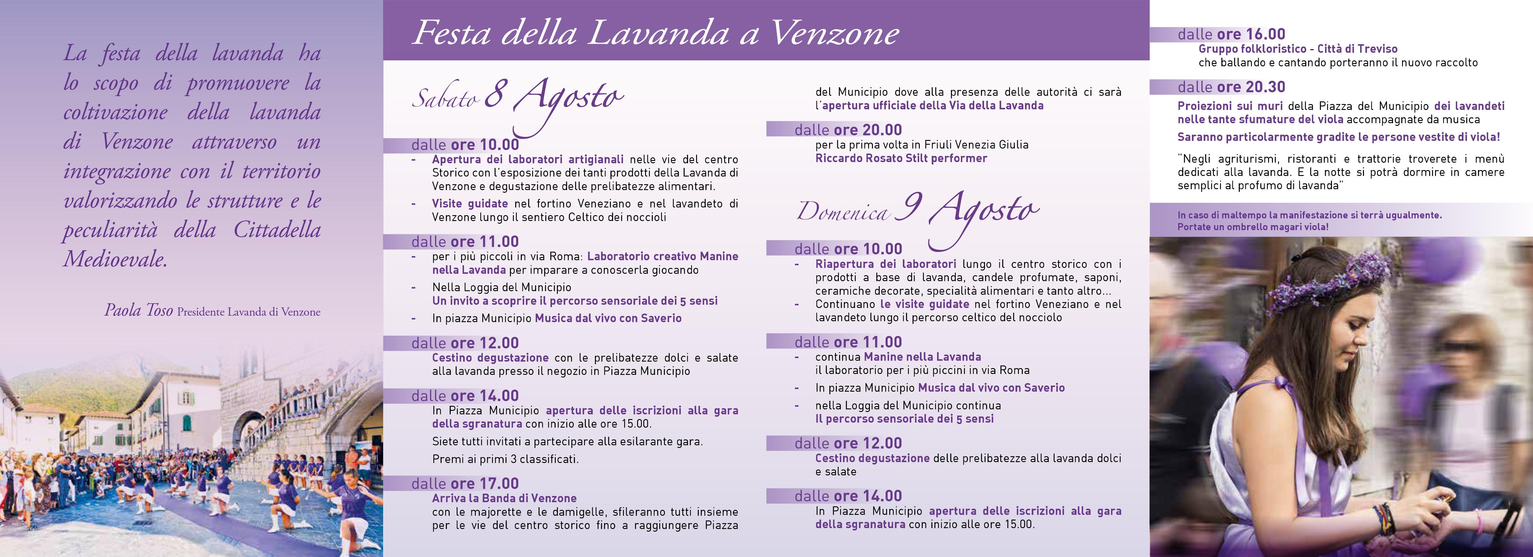 Eventi e feste delle lavanda Italia