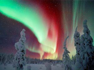 Periodo migliore per vedere l'aurora boreale in Finlandia