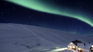 Dove vedere l' aurora boreale Svezia