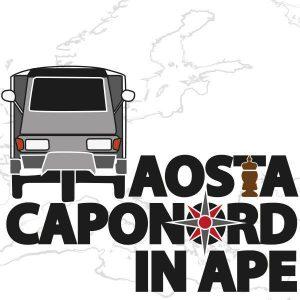 Viaggio da Aosta a Capo Nord, con l'Ape Piaggio