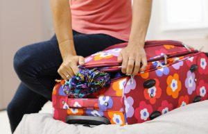 Come imballare la valigia a casa