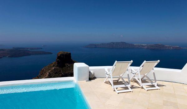 Santorini migliori hotel romantici