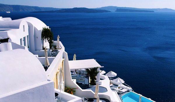 Migliori hotel romantici Santorini