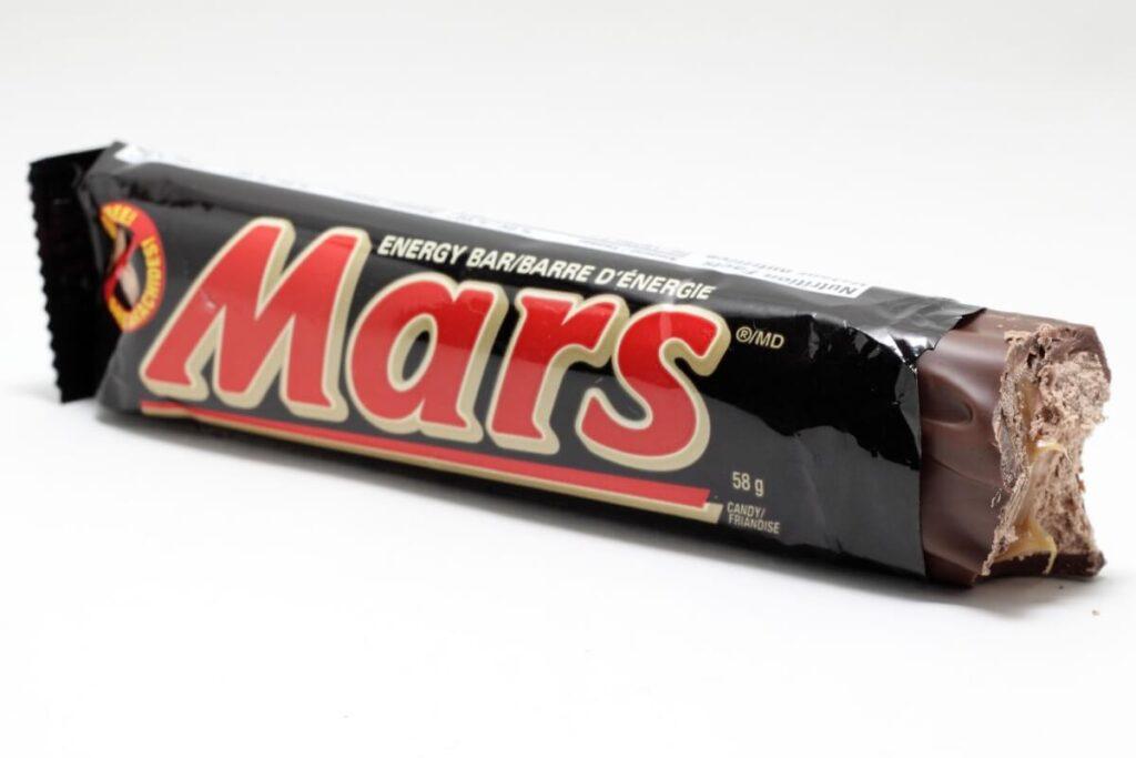 Mars barretta cioccolato