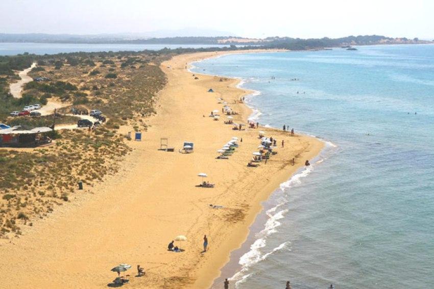 Migliori spiagge di sabbia a Corfù