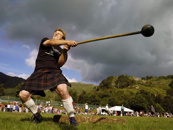Quando assistere agli Highland Games
