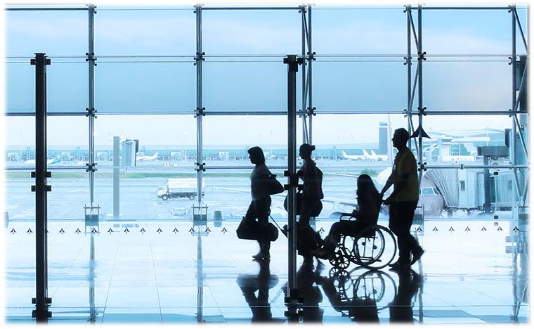 Come richiedere assistenza speciale in aeroporto