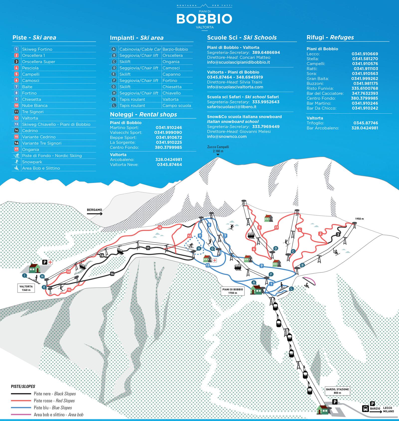 Dove sciare vicino Milano in giornata