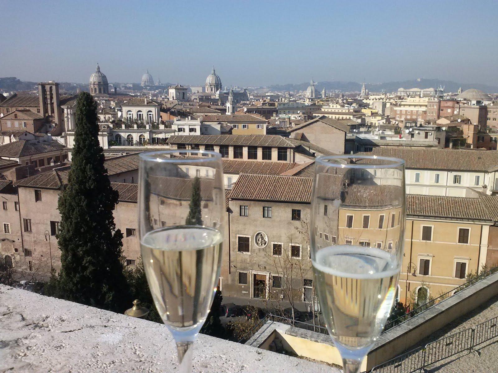 14. Vista dalla Terrazza Caffarelli - Roma