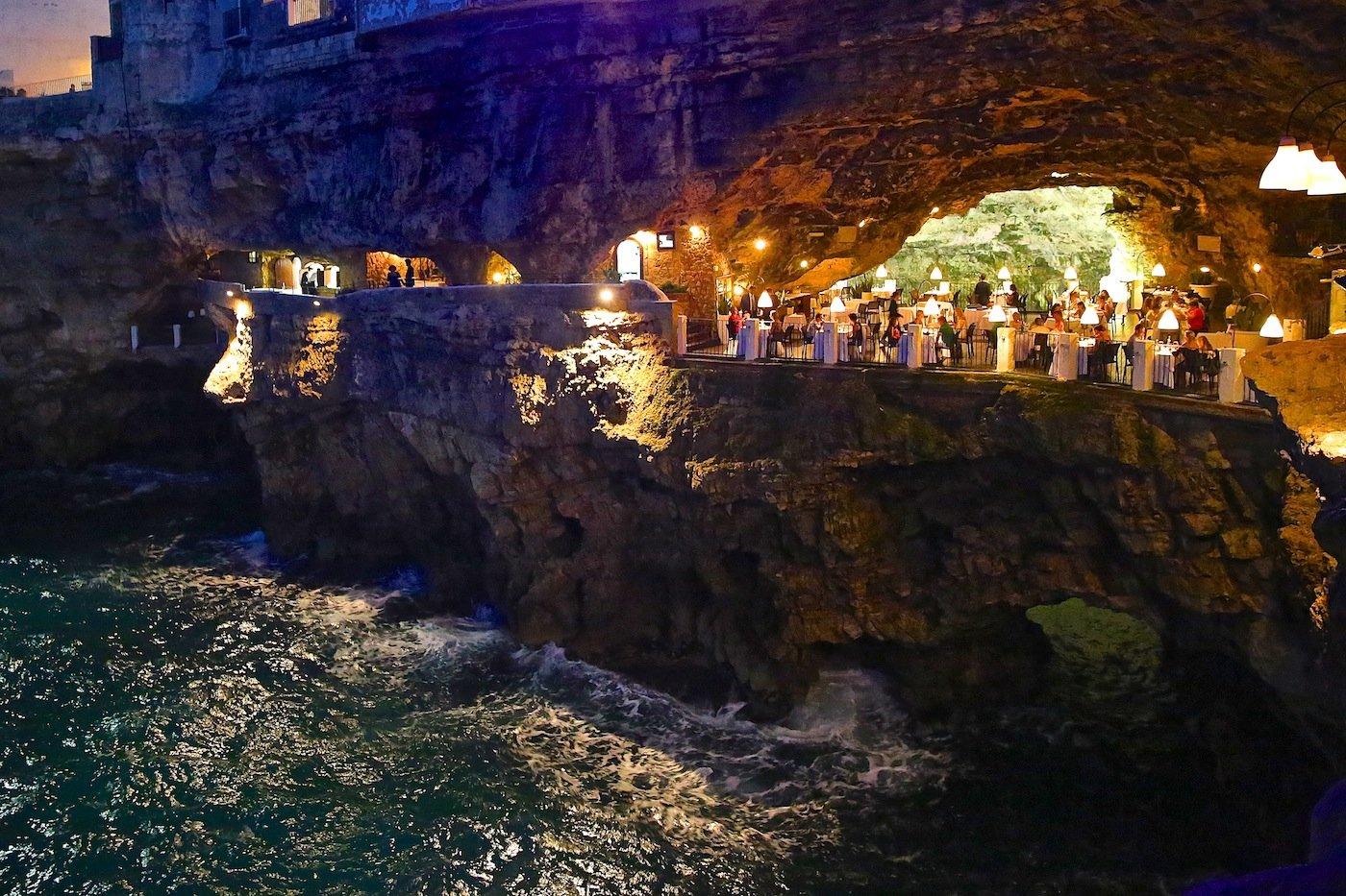 46. Grotta Palazzese - Polignano a Mare