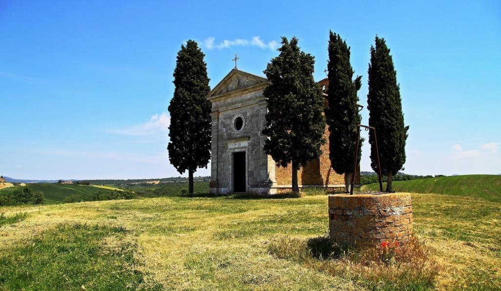 Cappella della Madonna di Vitaleta –  Loc. Vitaleta -  San Quirico d'Orcia – Siena