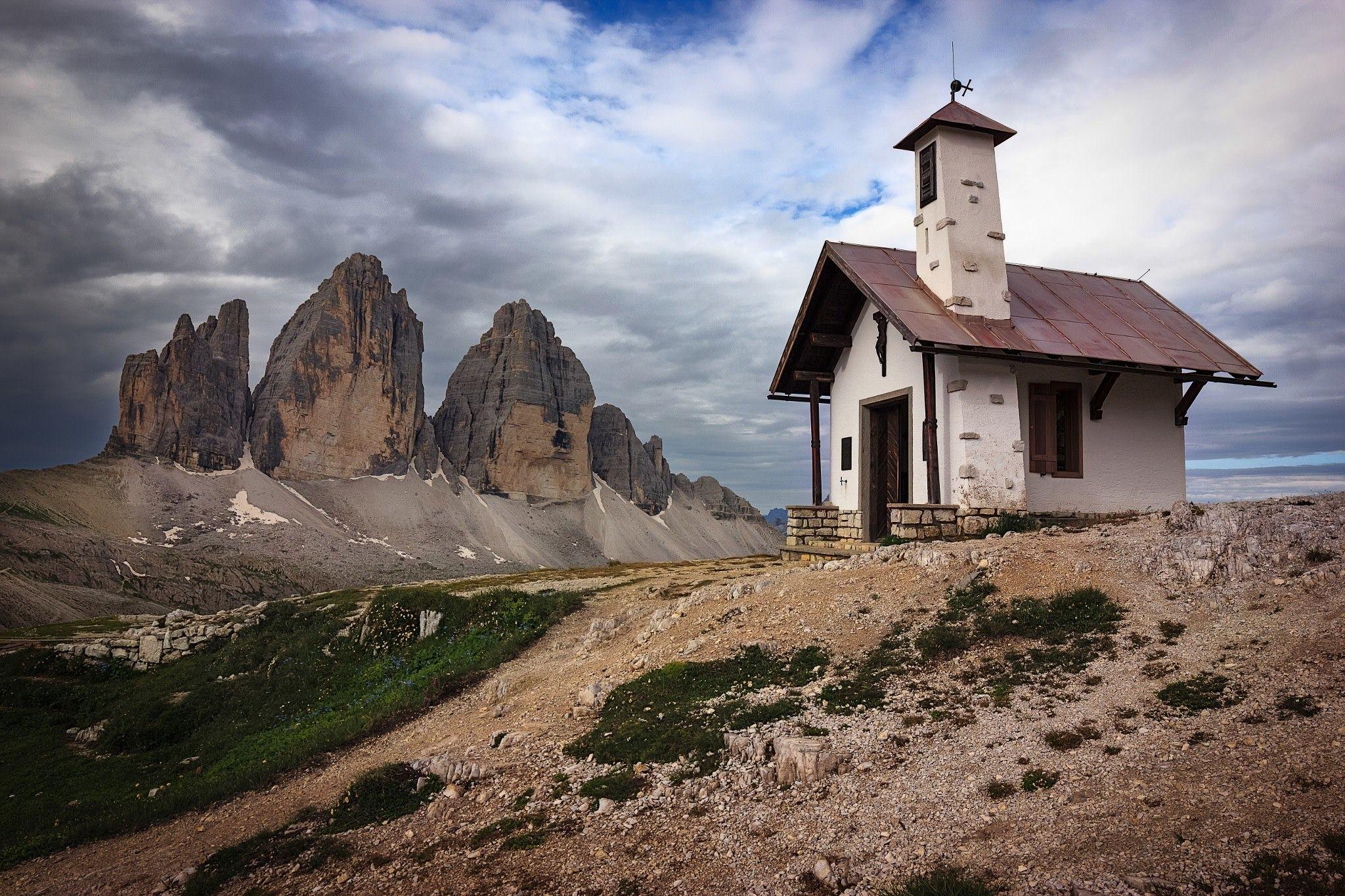 Chiesetta al Locatelli - Tre Cime di Lavaredo - Dolomiti di Sesto - Trentino Alto Adige