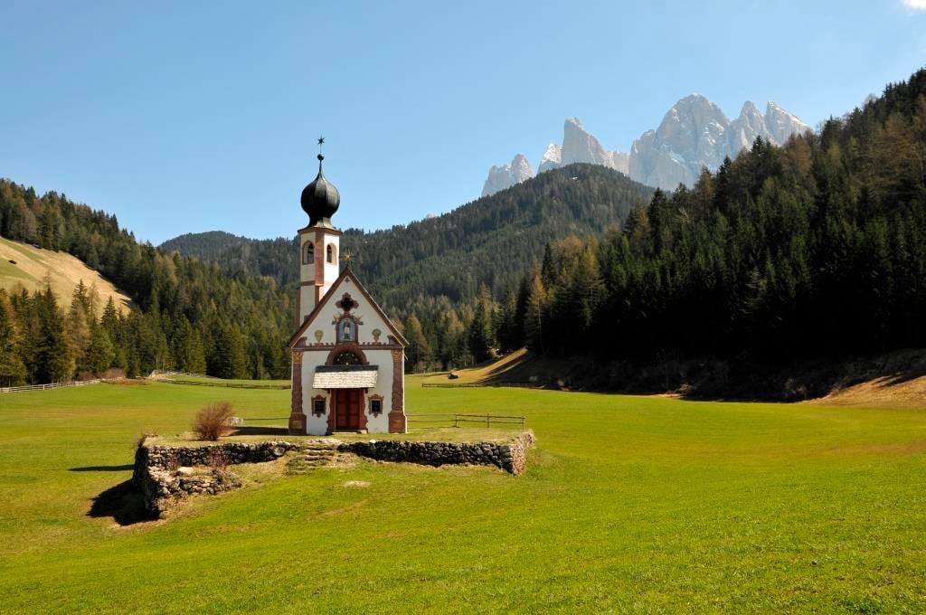 Chiesa di San Giovanni in Ranui – Val di Funes – Trentino Alto Adige