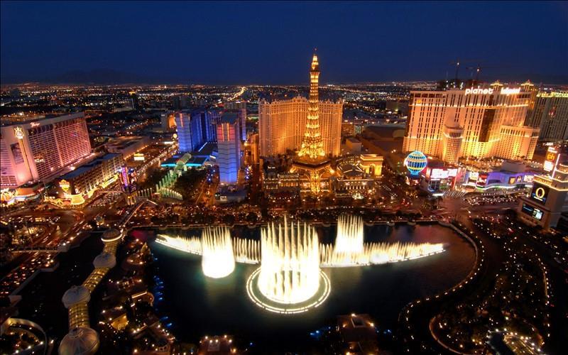 10 destinazioni viaggio di nozze all'estero: Las Vegas