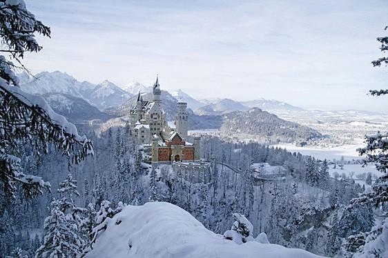 10 città europee da visitare a Natale: Schwangau