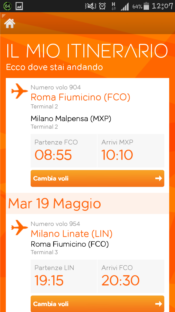 Come anticipare un volo easyJet