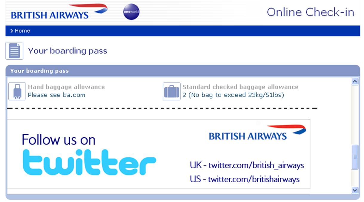 Come cambiare nome ad un volo British Airways