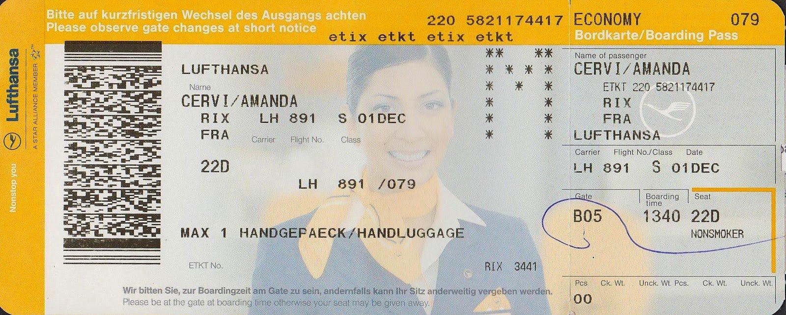 Come cambiare nome ad un volo Lufthansa