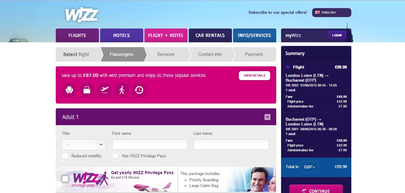 Come cancellare un volo Wizz Air