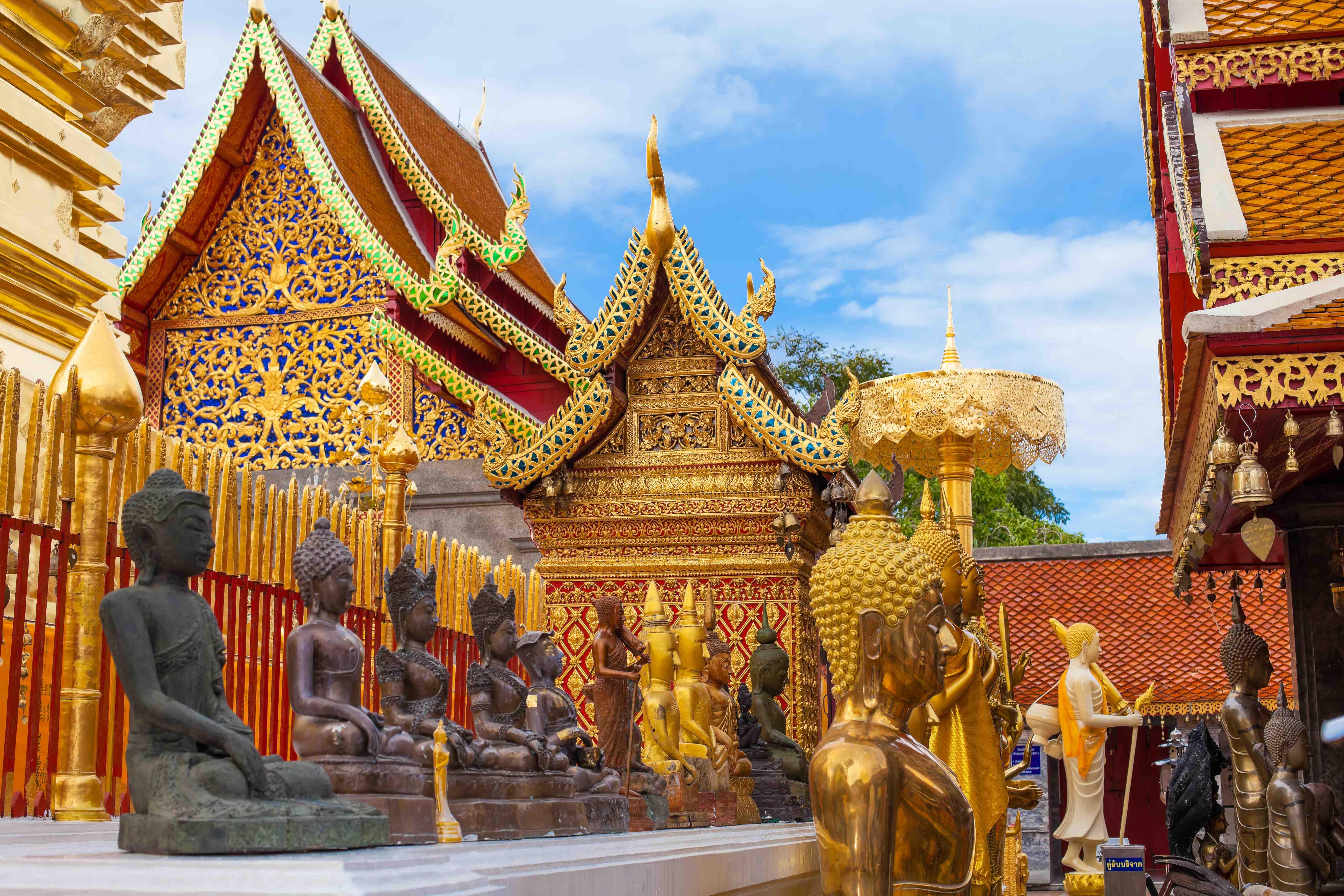 Chiang mai - Templii