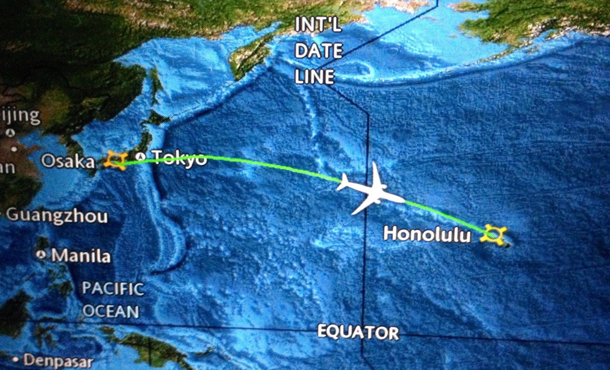Ore di volo_Hawaii