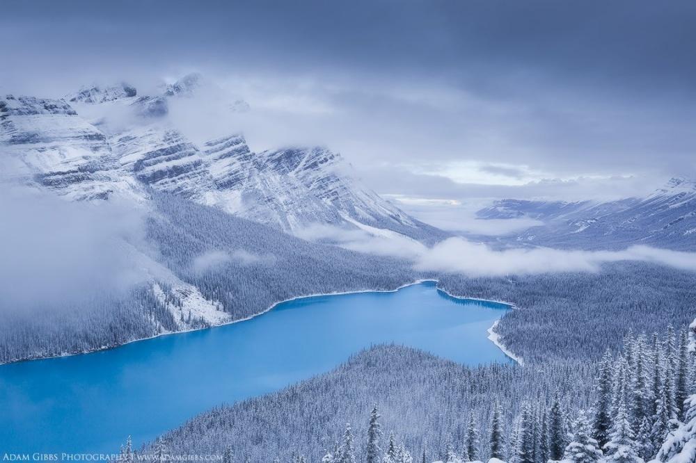 Lago Peyto, Canada