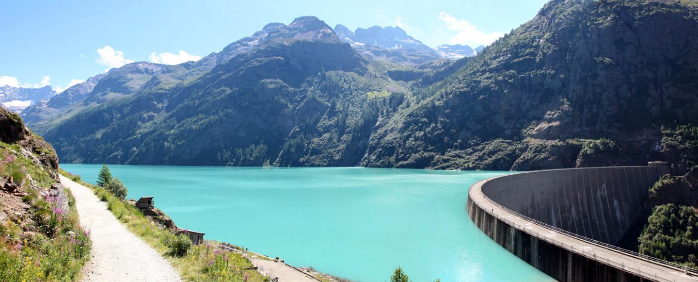 Lago di Place Moulin