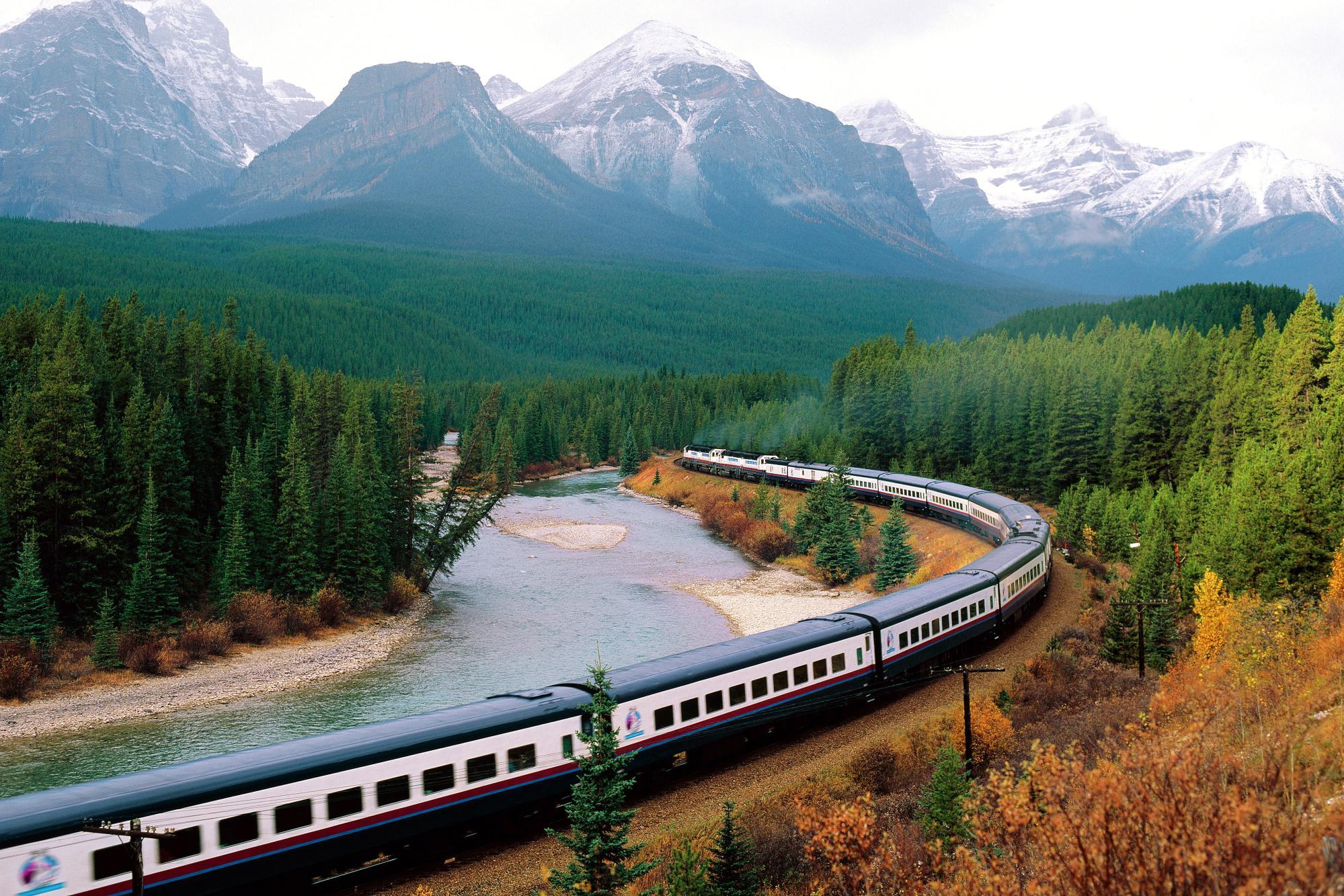 Viaggio in treno attraverso l'America con meno di €500