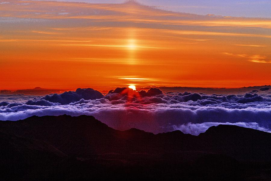 L'alba ad Haleakala