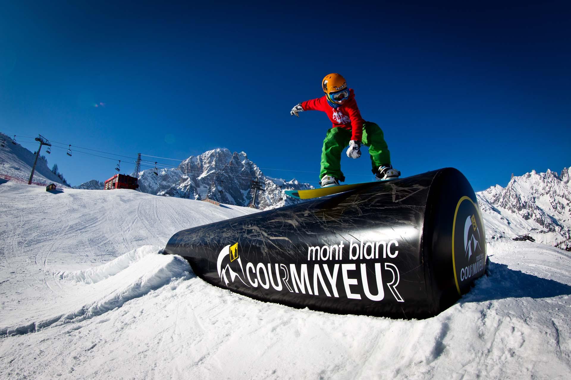 Comprensorio Courmayeur Mount Blanc