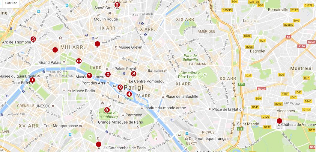 mappa-attrazioni-cosa-vedere-a-parigi