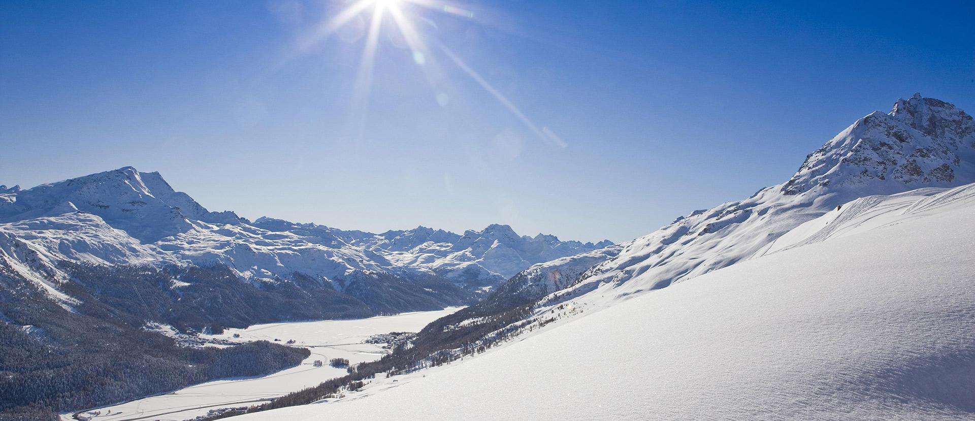 Piz Nair Saint Moritz