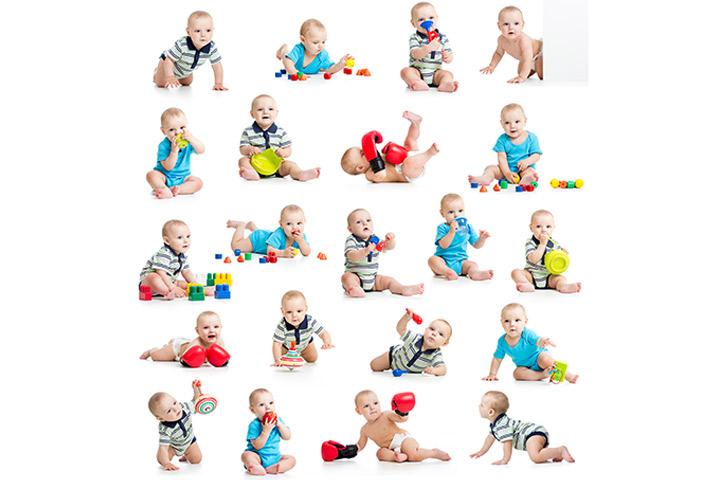 Giochi per i bambini da 0 a 12 mesi: mese dopo mese