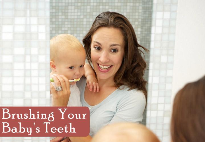 Come pulire i denti e le gengive del bambino