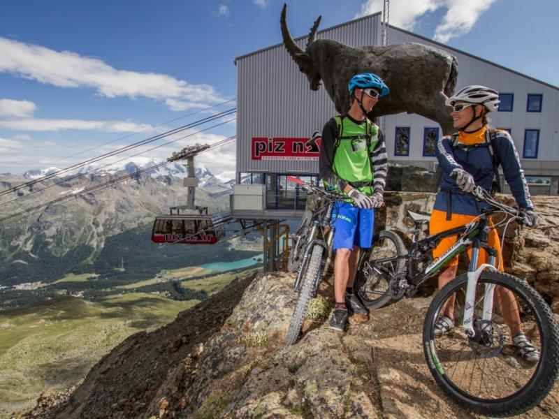 Mountain Bike Saint Moritz