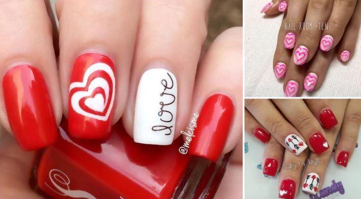 15 nail art davvero adorabili da indossare a San Valentino