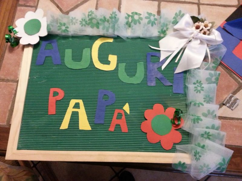 Idee regalo per la festa del papà fai da te