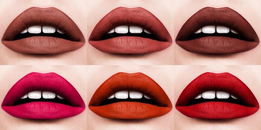 Make-up autunno inverno all'insegna dei rossetti matte