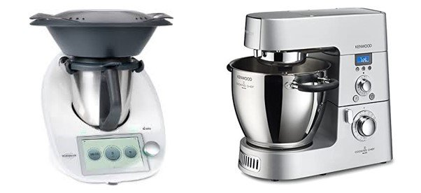 Bimby vs Kenwood Cooking chef quale scegliere: il confronto