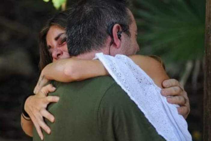 Bianca piange isola dei famosi