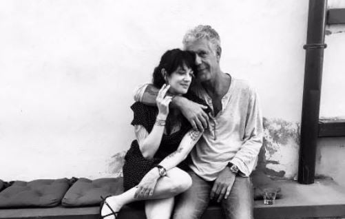 Anthony Bourdain e Asia Argento
