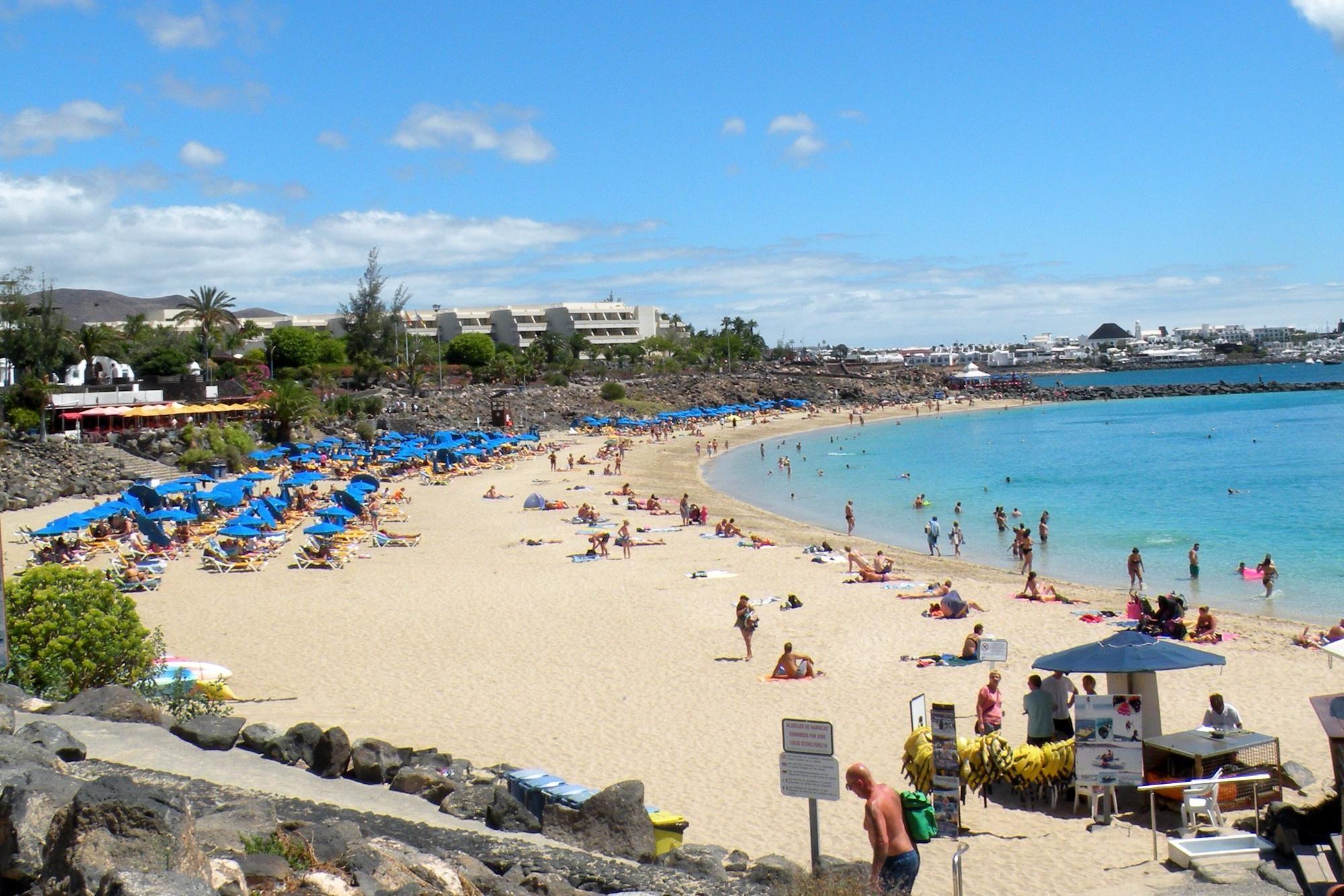 spiagge senza vento lanzarote