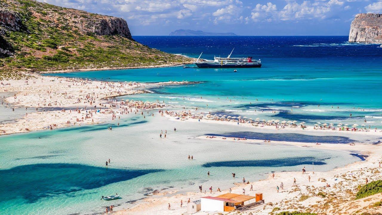 Miglior spiagge senza vento Creta: 10 indirizzi