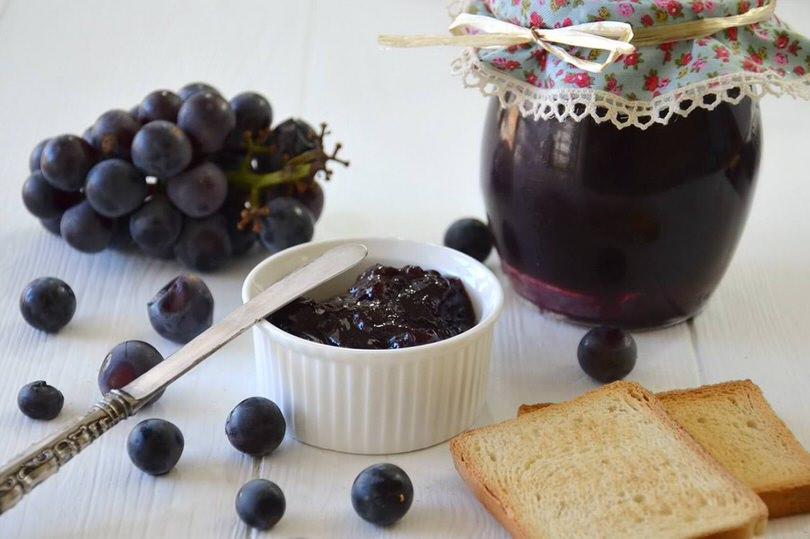 Marmellata di uva con il Bimby
