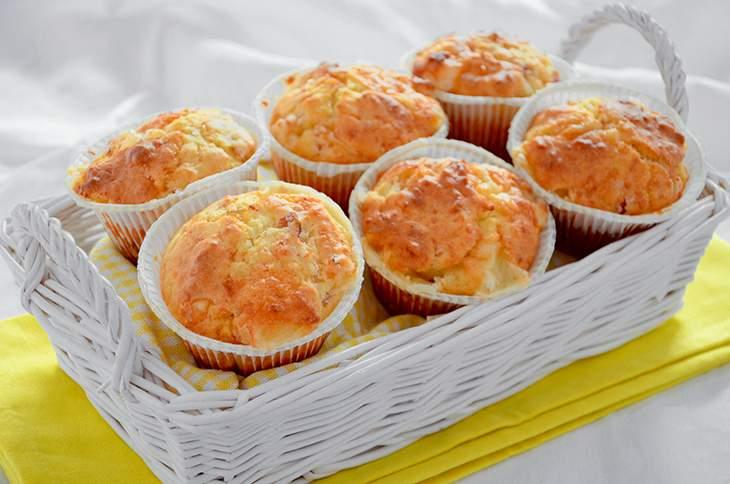 Muffin al prosciutto e fichi: ricetta facile e veloce