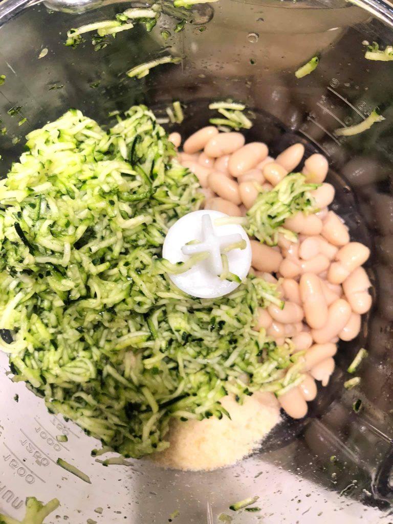 polpette di fagioli e zucchine