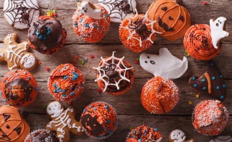 Cupcake tema Halloween col Bimby al cuore caldo di Nutella
