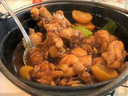 Pollo alle castagne Bimby