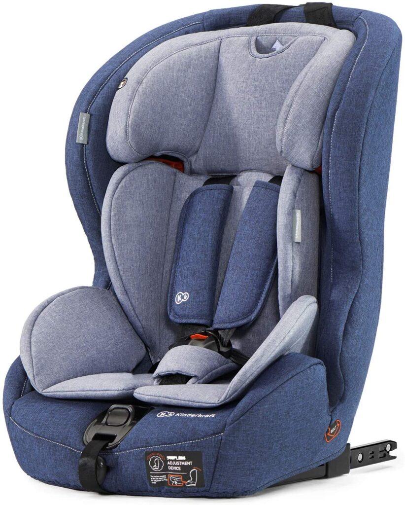 seggiolino-viaggio-macchina-neonato-bambino-gruppo-1/2/3-kinderkraft-safety-fix