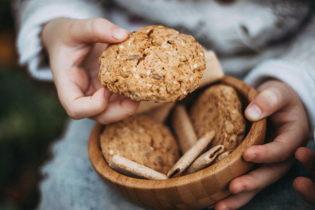 Biscotti all'aroma di arancia Bimby